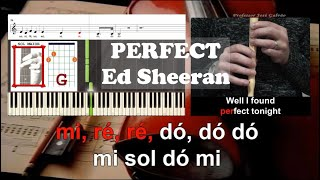 Perfect Ed Sheeran Educacao Musical Notas Para Flauta Com Guia