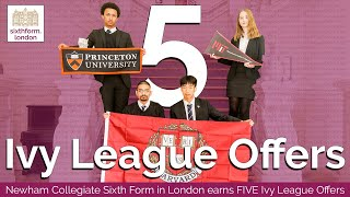 Meet The FIVE British Ivy League Offer Holders From One School In East London