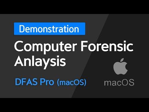 Digital Forensic Demonstration : DFAS Pro(mac)  Computer ...
