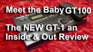 Roland Boss GT 1 Inside & Out Review Effects Pedal Meet The Baby GT 100     Tonymckenziecom