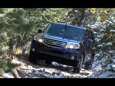 2014 Honda Pilot AWD Off-Road & 0-60 MPH Drive and Review