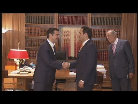 Συνάντηση Α. Τσίπρα με τον αναπληρωτή πρωθυπουργό του Κατάρ