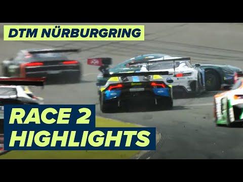 DTM ニュルブルクリンク(ドイツ) レース2のハイライト動画