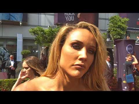 2018 ESPY Interview with Lolo Jones