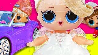 НЕВЕСТА И ДВА ЖЕНИХА! Мультики куклы лол и Барби. Сборник от Подруги Буги Вуги