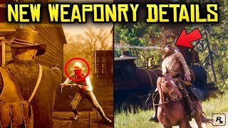 Red Dead Redemption 2: NEW Official Weaponry Info (Gameplay + Audio, Dead Eye & Much More)