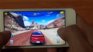 Apple Iphone 5 Тест игр, Real Racing3,World of Tanks,NFS,Asphalt8