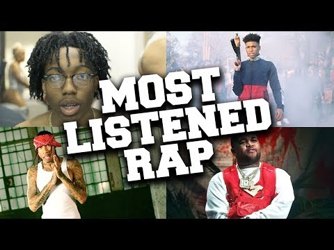 Top 100 Most Listened Rap Songs in July 2019 (видео)