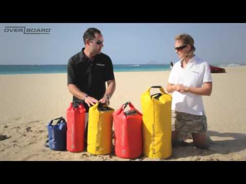 Wasserdichte Packsäcke - Beutel - Dry Tube Bags -  OverBoard.mp4