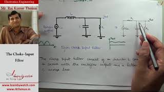 Diode Choke Input Filter | Hindi/ Urdu | Electronics Engineering by Raj Kumar Thenua