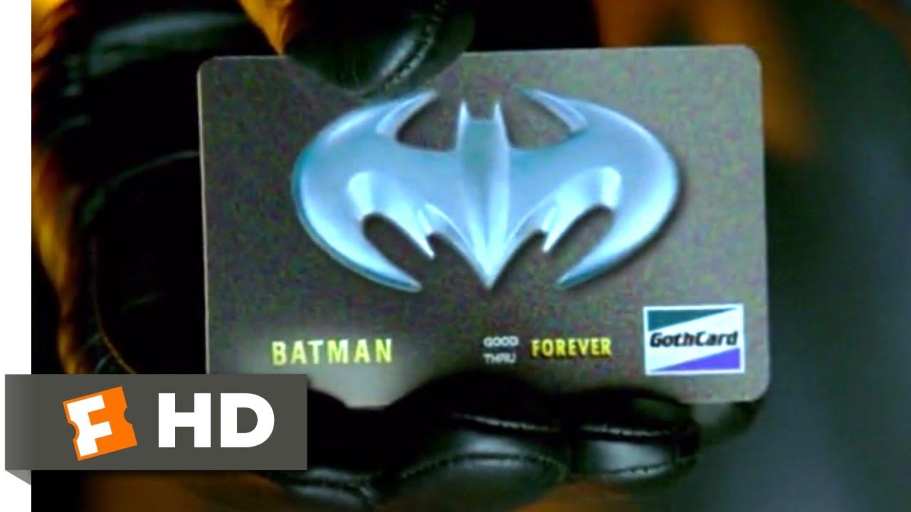 Batman & Robin (1997) - Bat Charge Card Scene (4/10)|Movieclips thumbnail