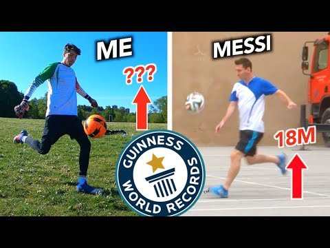 How Difficult was Lionel Messi's World Record? – Can Footballers Records be Broken?