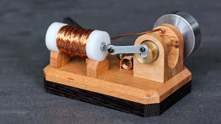 How to make a Solenoid Engine