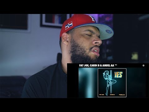 [Reaccion] Fat Joe, Anuel AA, Cardi B - YES (Audio) -JayCee!