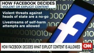 """FACEBOOK MEMO ON WHEN TO CENSOR USER CONTENT """"LEAKED"""""""