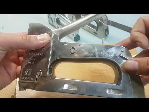 Grapadora cables / Como fijar cable en madera, pared, yeso / Como sujetar cable / Clavadora cables