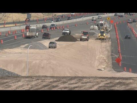 Rio Bravo interchange landscaping
