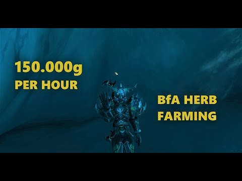 Best method for BfA Herb farming(Winters Kiss, Anchor Weed