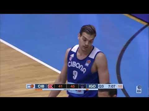 ABA Liga 2019/20 highlights, Round 10: Cibona - Igokea (6.12.2019)