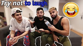 EXTREME TRY NOT TO LAUGH WATER  CHALLENGE!