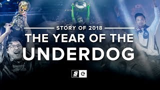 The Story of 2018: The Year of the Underdog