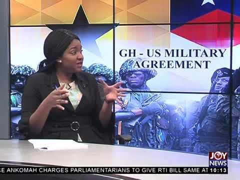 Ghana-US Military Agreement - News Desk on Joy News (27-3-18)