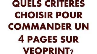 Tuto vidéo: imprimer sa plaquette 4 pages via un imprimeur en ligne