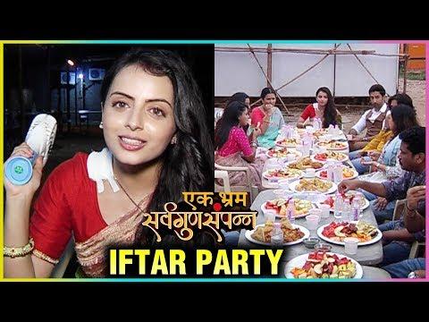 Shrenu Parikh IFTAR PARTY On The Set Of Ek Bhram S