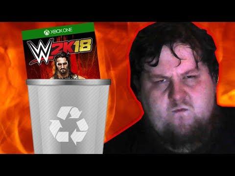 WWE2k18 Save File Gone! File Deletion Glitch!
