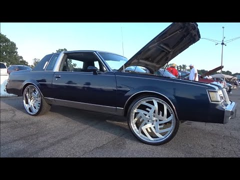"""Veltboy314 - LS Swapped Buick Regal On Brushed 24"""" Rucci Wheels"""