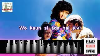 Tumhe dekhe meri aankhe Full Karaoke song for male singers