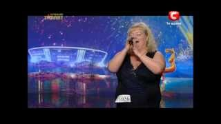 Светлана Лёгенькая (Одесса) (Украина має талант-4).mpg