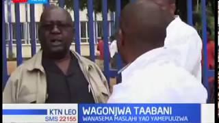 Wagonjwa taabani Machakos, wahudumu wa afya wakiandamana kuhusu mishahara