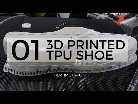 Printare 3d a unui pantof cu TPU