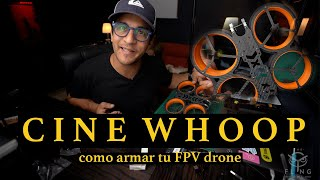 Como armar un Cinewhoop Fpv drone #4| FC y DJI unit