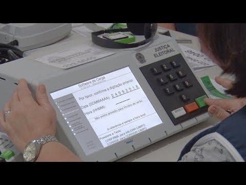 Polo eleitoral de Nova Friburgo inicia a inseminação das urnas eletrônicas