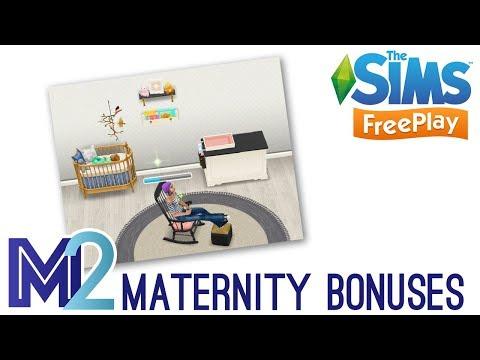 Sims FreePlay - Maternity Bonus Prizes (Early Access)