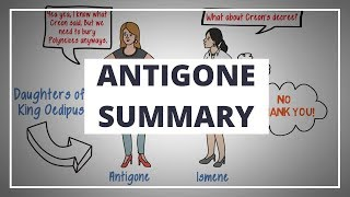 ANTIGONE BY SOPHOCLES - ANIMATED PLAY SUMMARY