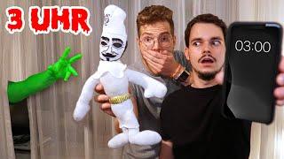 öffne NIEMALS eure FANPOST um 3 UHR NACHTS mit GRUSEL Voodoo Puppe !!!