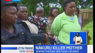 Nakuru mother poisons her four children, kills one before committing suicide