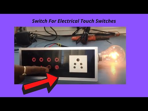 Best Quality Customised Capacitive Touch Switch For Industrial Automation