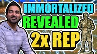 IMMORTALIZED LEGEND REWARD REVEALED • LAST DOUBLE REP IN NBA 2K17?? • RONNIE2K LIED TO US!!😪