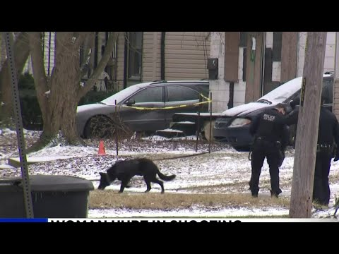 Woman walks to hospital after being shot on Detroit's east side