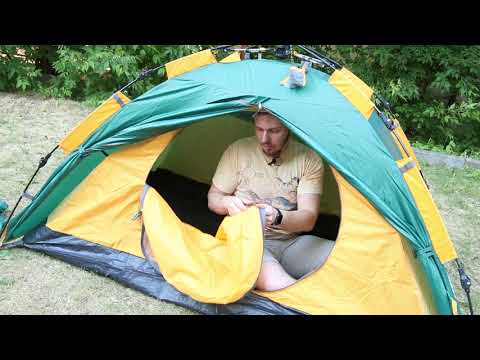 Палатка для кемпинга Greenell «Трале 2» V2. Видеообзор.