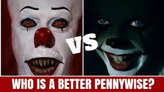 Who is the best Pennywise? Tim Curry Vs. Bill Skarsgård