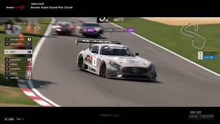Gran Turismo™SPORT - Brands Hatch GP Mercedes AMG GT3 Gr3 (online race)