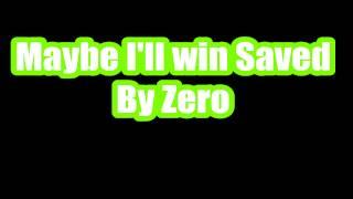 THE FIXX~saved by zero