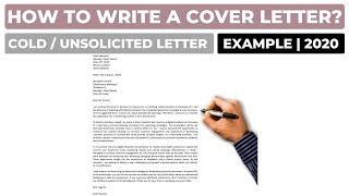 How To Write an Unsolicited Cover Letter? (2020)   Example