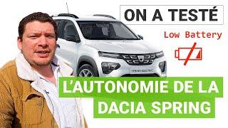 Dacia Spring : jusqu'où peut aller la 1ère voiture électrique low-cost ?