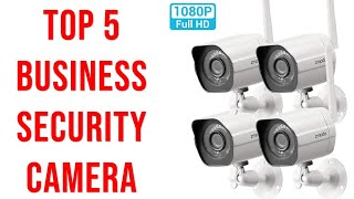✅Top 5 Best Small Business Security Camera 2020-Outdoor Security Camera Review